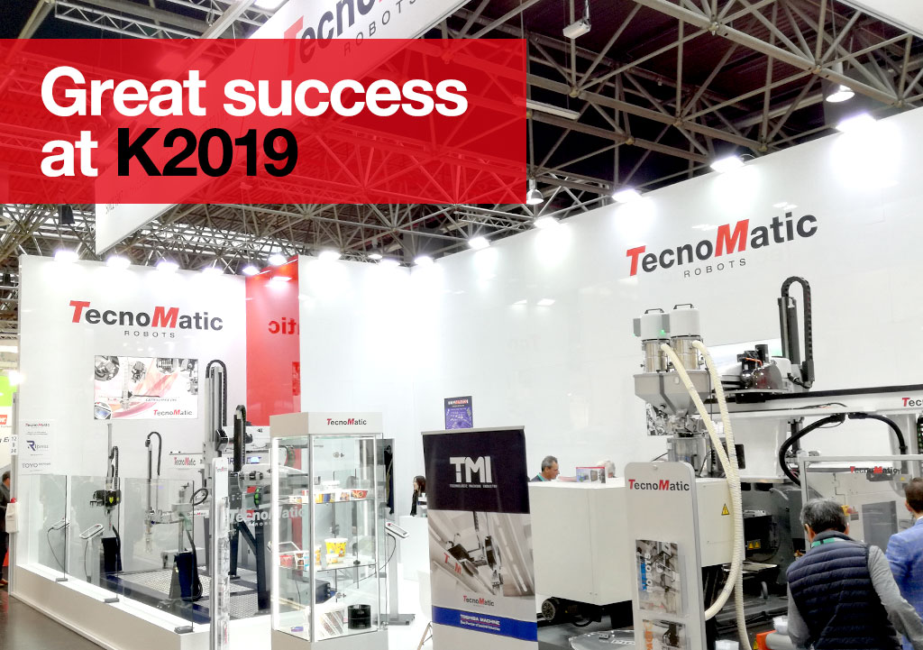 K2019 – We thank all those who visited our stand and made this event a great success.